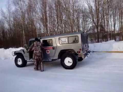 Hummer H1 VS Dodge Ram. Part 2