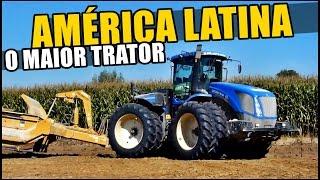 O MAIOR TRATOR Agrícola Da América Latina