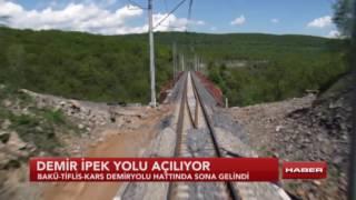 Bakü Tiflis Kars Demiryolu Hattında Sona Gelindi