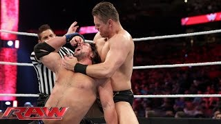 AJ Styles vs. The Miz: Raw, February 15, 2016