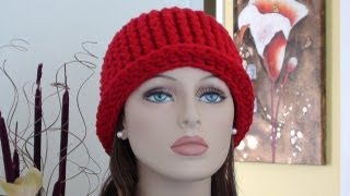 Download CHY Ribbed Crochet Hat - How to Crochet Ribbed Crochet Hat 3Gp Mp4