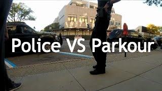 Police VS Parkour - Caught climbing buildings