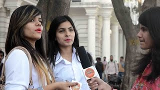What do GIRLS like lean or muscular Guys | Street Interview in India 2017 | UnglibaaZ