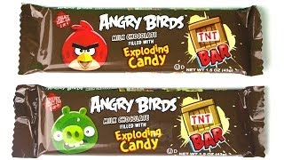 ANGRY BIRDS CHOCOLATE BARS and MORE CANDY!