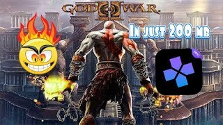How to download God of War 2 in just 200 MB for android   Damon ps2 pro free