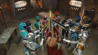 Power Ranger Super Dino Charge | Batalla Megazord contra los Greenzilla round 1 - Capitulo 19