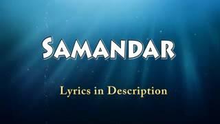 Samandar lyrics   Kis Kis Ko Pyaar Karoon   Shreya Ghoshal , Jubin Nautiyal