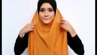 Long Shawl Tutorial by Anggun Zara - Inara