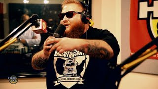 Action Bronson freestyles on Flex