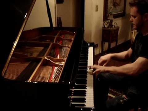 Vinheta Jornal Plantão Globo no piano