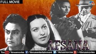 Afsana Full Movie   Ashok Kumar Movies   Pran   Bollywood Classic Movies   Full Hindi Movies
