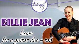 Guitar Lesson Michael Jackson Billie Jean for beginners