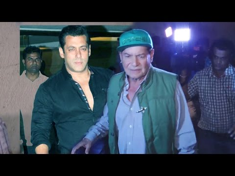 Salman's Father Salim Khan WATCHES Sonakshi Sinha's AKIRA