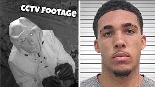 Liangelo Ball Arrested Footage In China For STEALING EXPLAINED