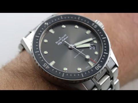 Xxx Mp4 Blancpain Fifty Fathoms Bathyscaphe Ref 5000 1110 70B Watch Review 3gp Sex