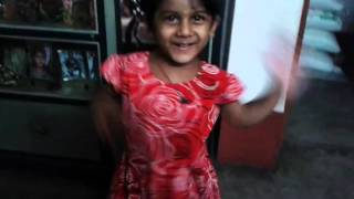 Girl dancing on Besh Korechi Prem Korechi Korboi Toh Song of Jeet & Koel