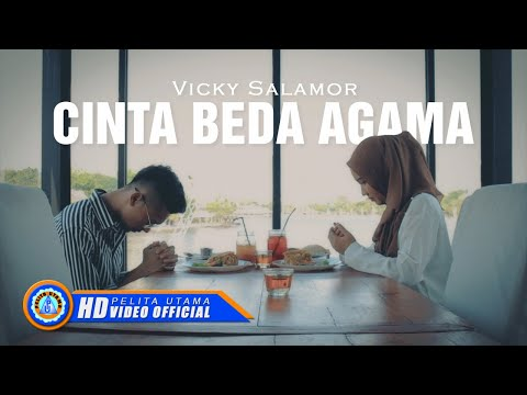 Vicky Salamor - CINTA BEDA AGAMA ( Official Music Video ) [HD]