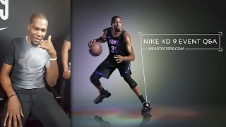 Nike KD 9 Q&A with Kevin Durant