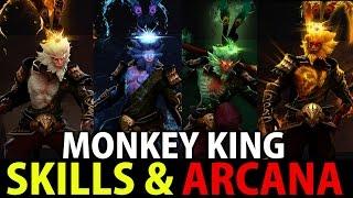 Monkey King [Dota2] Ability Skills & Arcana