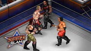 WWE SUMMERSLAM 2017 CHAMPIONSHIP MATCHES (Fire Pro Wrestling World Sims)