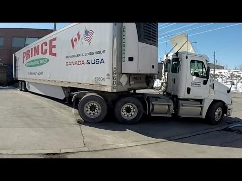 Miastunio Czwartunio Truck Vlog 23.03.2017