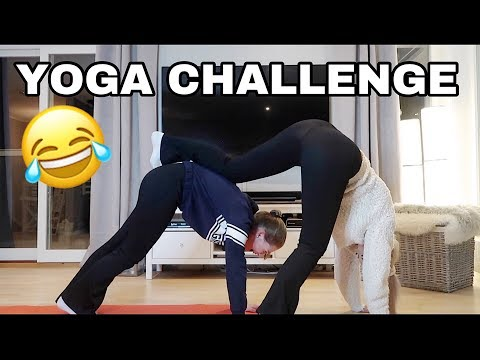 Xxx Mp4 Couple Yoga Challenge Med Isabelle Eriksen SYKT MORSOM 3gp Sex