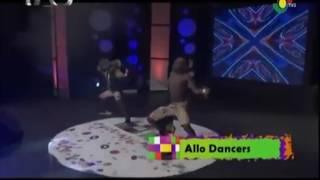 Allo dancers on TALENTED KIDS