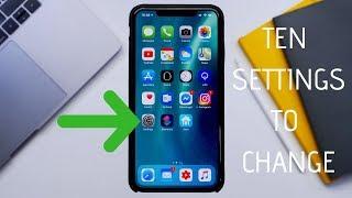 10 iPhone Settings Everyone Should Change (iOS 12)