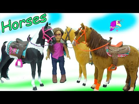 Xxx Mp4 American Girl Vs Our Generation Vs My Life As Giant Sized Horses Haul Video 3gp Sex