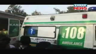 Tragic Bus Accident in Angul, Injured Passengers Taken To Hospital
