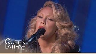 Tamar Braxton Performs 'Silent Night' on The Queen Latifah Show