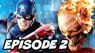 Agents Of SHIELD Season 4 Episode 2 Ghost Rider TOP 10 Marvel Easter Eggs