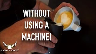 How To Make Cappuccino/Latte Milk At Home!