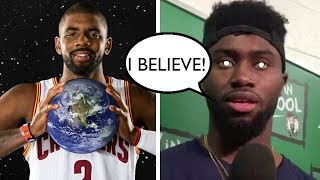 Kyrie Irving Converts New Teammates into a Flat Earth Cult