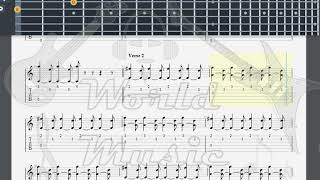 Green Day   All By Myself GUITAR TAB
