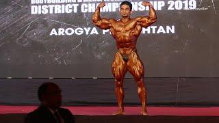 Above 90 KG Sunit Jadhav Special Appearance Mumbai Shree 2019 Bodybuilding Competition
