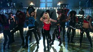 Britney Spears -  Toxic LIVE In The Zone (HD 1080)