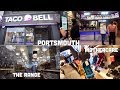 TACO BELL PORTSMOUTH & BUYING CHANDELIER FROM THE RANGE