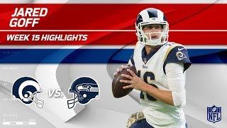 Jared Goff Highlights   Rams vs. Seahawks   NFL Wk 15 Player Highlights