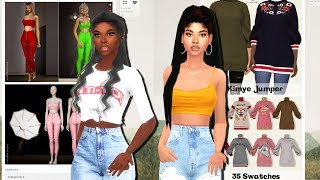 CC SHOPPING WITH XUREILA 🛍️ | The Sims 4