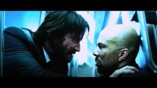 John Wick 2 - Train Fight and You got a Quater scene