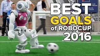 Best goals of RoboCup 2016
