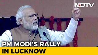 PM Modi's Speech at BJP Rally in Lucknow