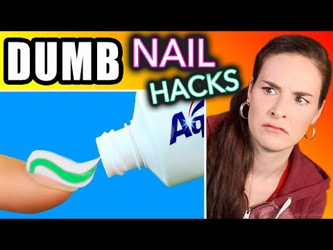 Testing DUMB Nail Hacks SimplyNailogical torture