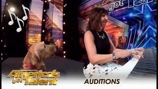 Oscar The Singing Dog: SHOCK! Finally A Dog That Can Sing!   America