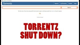 TORRENTZ SHUT DOWN ?NO PROBLEM HOW TO FIX TORRENT