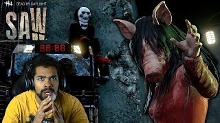 I JOINED JIGSAW!!   The SAW Chapter - Dead By Daylight