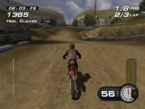 MX Superfly PS2 Gameplay