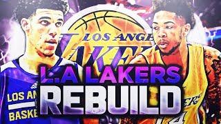 2 98 OVERALL SIGNINGS!! LA LAKERS REBUILD! NBA 2K18