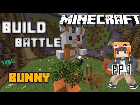 Minecraft Build Battle Ep.1 แครอทน่าย๊ากกก w FlickkingHD